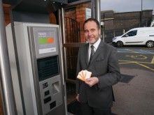 New ticket machine for Shenstone station