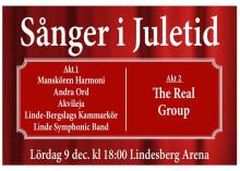 Över hundra körsångare i julkonsert med The Real Group