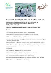 Program 7 april 2011