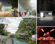 Insekter som midsommarmat eller ljusterapi i busskuren? Ny utställning: Reprogramming the City