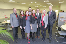 Santander Nachwuchs leitet Bank-Filiale in Oberhausen
