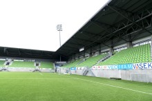 Elisa-stadion Vaasassa energiatehokkaalla lämmitysjärjestelmällä