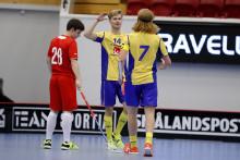 Målshow av Sveriges U19-herrar