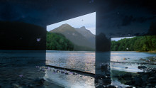 Mysterious new Sony BRAVIA OLED TV ad transforms a darkened forest with shimmering luminescence