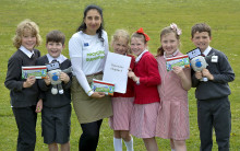 ​Budding authors work on nationwide recycling book