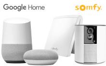 Google Home fungerar med lösningar från Somfy