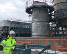 SSGs ytskyddsstandard är ett krav när Södra Cell bygger en ny biometanolanläggning