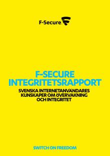 Integritetsrapport - svenska internetanvändares kunskaper om övervakning och integritet