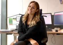 Julia Bodin – en av nio nya traineer på Implema
