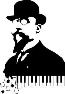 Monsieur  Erik Satie – en konsertföreställning om den franske kompositörens märkliga musik, tankar och liv