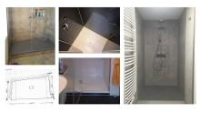 Duschen für jede Einbausituation – Zuschneidbare Squaro Infinity Duschböden im Vorher-Nachher-Test