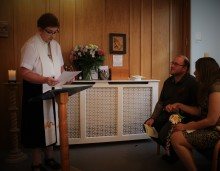 Local clergy discover more about hospice care during visit to ellenor Gravesend
