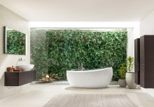 ​2017 bathroom trends - from Nordic to coolness and vintage: stylish design is in demand