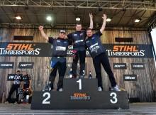 Vebjørn slo knock-out på svenskene i Timbersports