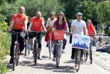 Notenrad-Tour am 31. Juli 2016 auf den Spuren von Max Reger in Leipzig unterwegs