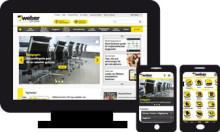 Weber lanserar ny webbplats på www.weber.se