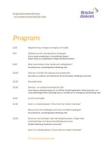 En arbetsmarknad för alla - program