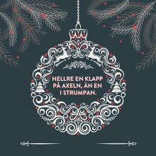 God jul, och tack alla ni som hjälper oss att bygga en bättre värld