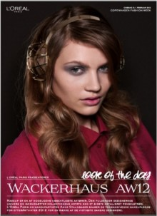 L'ORÉAL PARIS LOOK OF THE DAY // WACKERHAUS AW 12