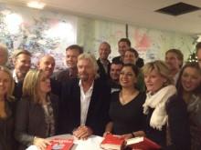 Founders Alliance på plats när Sir Richard Branson besökte Stockholm