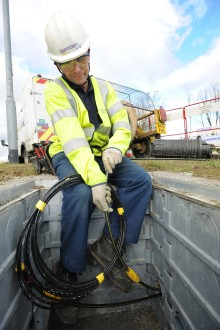 Ultrafast broadband 'breathes new life' into historic village of Thornton Rust
