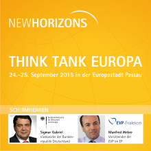 NEW HORIZONS 2015: Think Tank Europa
