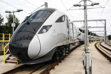 Testing begins for TPE's bullet train inspired fleet