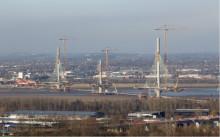 Mersey Gateway bridge deck is more than 50% complete