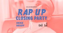 """Denz & Seedy till skolavslutningskonserten """"RAP UP – Closing Party"""" på Malmö Live"""