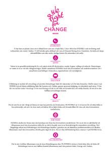 INDISKA We Fight For Change - hållbarhetsarbete