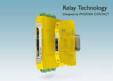 Powerful new safety relays are just 6 mm wide