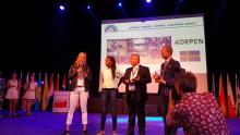 Korpen Heros satsning på elhockey för funktionshindrade gav prestigefyllt pris i Europa