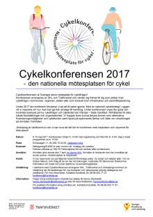 Inbjudan till cykelkonferensen med program