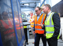 Ministerial visit raises importance of manufacturing in southern UK