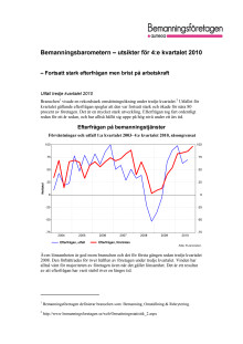 Bemanningsbarometern kv 4 2010