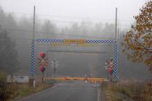 Järnvägen Falköping - Nässjö prepareras för snabbare tåg