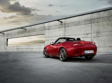 Mazda MX-5 uppdateras  – med fokus på mer körglädje och säkerhet