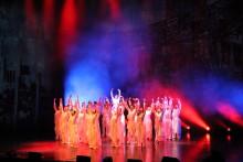 Kyrkornas världsråd öppnades med storslagen dansföreställning