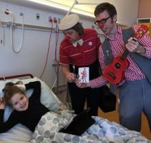 Hospitalsklovnene skaber glæde i hele familien