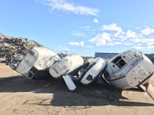 Båt eller bil – samma effektiva återvinningsprocess