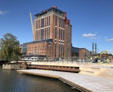 Pressinbjudan: Välkommen på invigning av Västerås nya brygghäng på Öster Mälarstrand