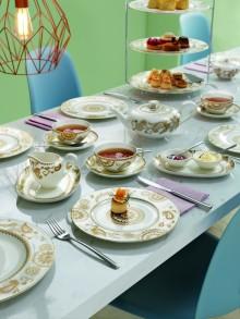 Design, das verzaubert - Neues Dekor Anmut Samarah inszeniert ornamentale Eleganz auf dem Tisch