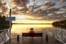 Vinnarbilden i Järfälla kommuns fototävling - Väntan på drömmen