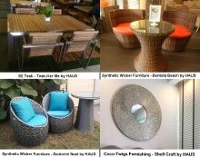 A Combination of Alfresco Furniture