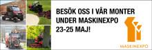 Maskin Expo 23-25 maj!
