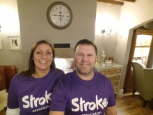 ​Uttoxeter stroke survivor takes on Resolution Run for the Stroke Association