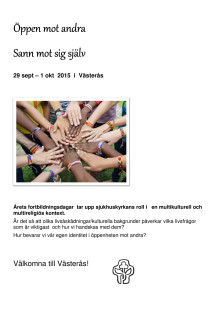Program för Sjukhuskyrkans rikskonferens