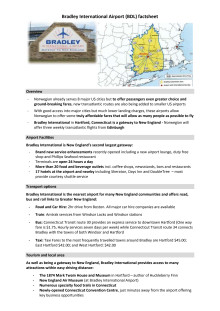 Bradley International factsheet