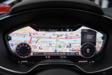 Audi viser det nye TT-interiør på CES
