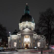 Gustaf Vasa kyrka öppnar portarna igen